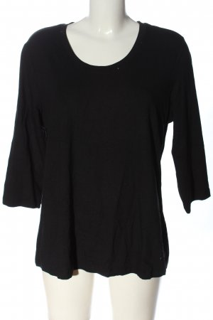 Alfredo Pauly Slip-over Blouse black casual look