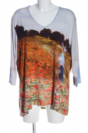 Alfredo Pauly Slip-over Blouse themed print casual look