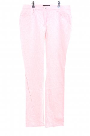 Alfredo Pauly Jersey Pants pink casual look