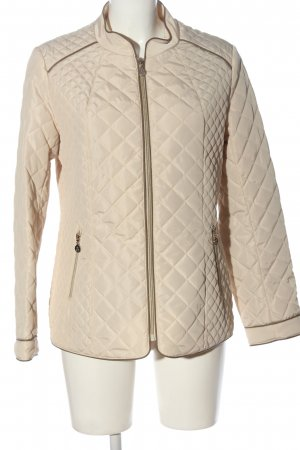 Alfredo Pauly Quilted Jacket cream quilting pattern casual look
