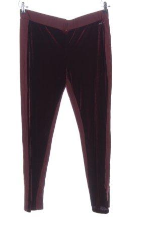 Alfredo Pauly Pantalone jersey lilla stile casual