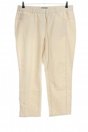 Alfredo Pauly Jersey Pants cream casual look
