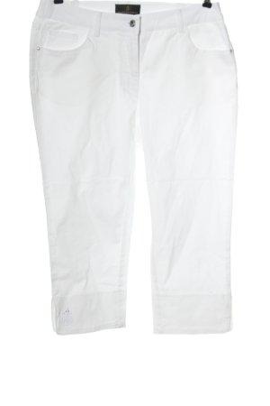 Alfredo Pauly Spodnie materiałowe biały W stylu casual