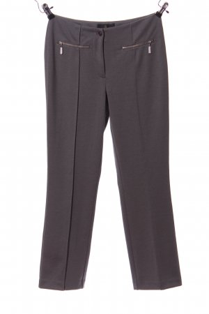 Alfredo Pauly Jersey Pants light grey business style