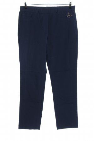Alfredo Pauly Jersey Pants blue casual look