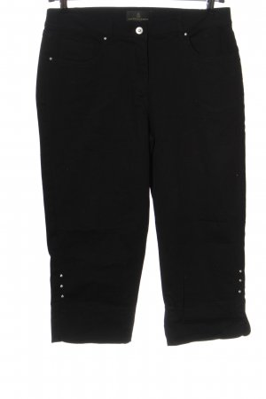 Alfredo Pauly Pantalone jersey nero stile casual