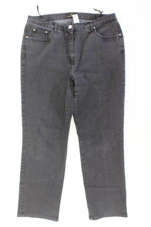 Alfredo Pauly Straight Jeans Größe W21 grau aus Baumwolle