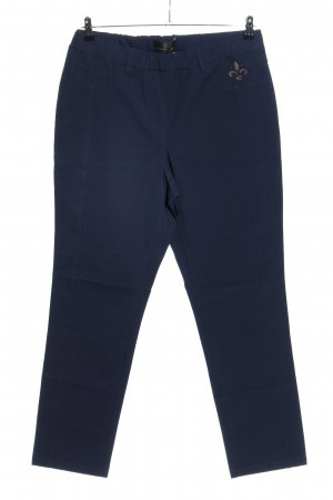 Alfredo Pauly Stretch Trousers blue casual look