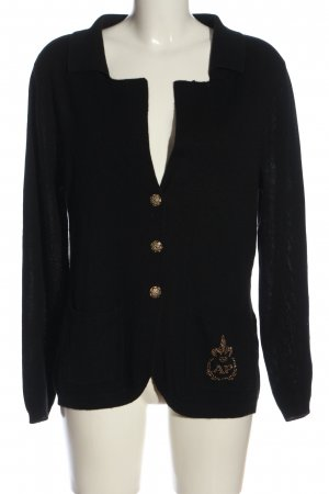 Alfredo Pauly Knitted Blazer black casual look