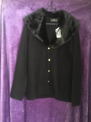 Alfredo Pauly Coarse Knitted Jacket black