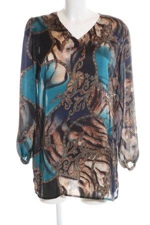 Alfredo Pauly Tunique-blouse motif abstrait style décontracté
