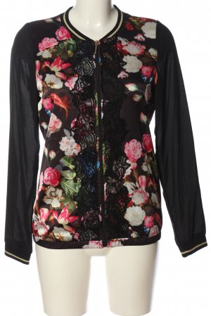 Alfredo Pauly Between-Seasons Jacket flower pattern casual look