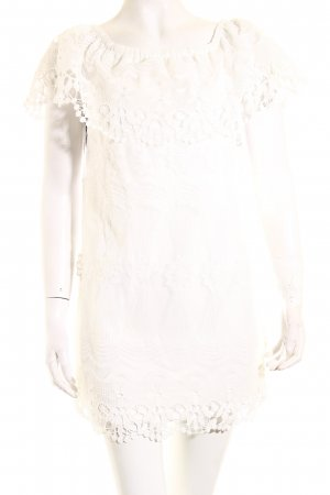 Ali & Jay schulterfreies Kleid weiß