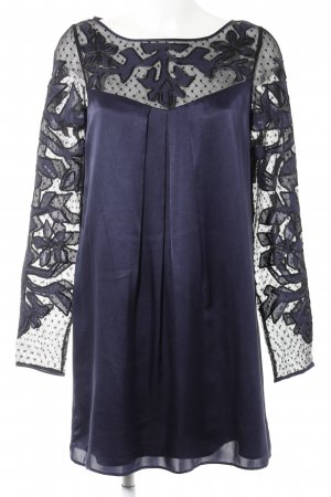Alice by Temperley Longsleeve Dress dark blue elegant