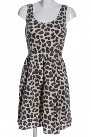 Alice by Temperley Midi Dress natural white-brown allover print casual look