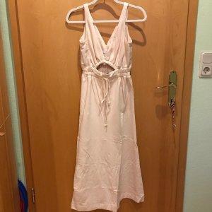 Alice McCall Sukienka midi kremowy Bawełna