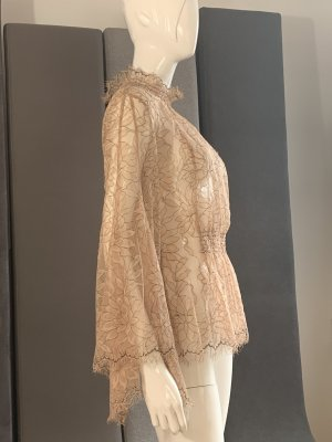 Alice McCall Lace Blouse nude