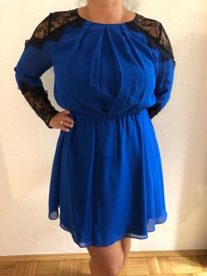 Alice + Olivia Lace Dress blue