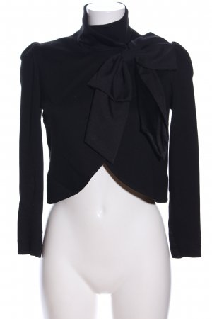 Alice + Olivia Jersey Blazer black business style