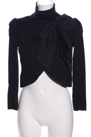 Alice + Olivia Jersey blazer zwart zakelijke stijl