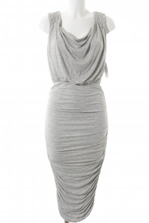 Alice + Olivia Robe en jersey gris clair style simple