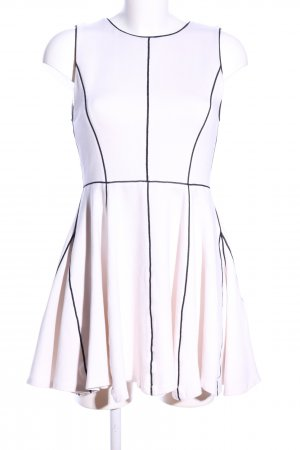 Alice + Olivia Jersey Dress white-black casual look