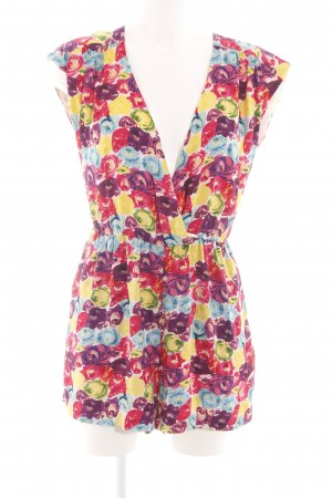 Alice + Olivia Jumpsuit flower pattern casual look