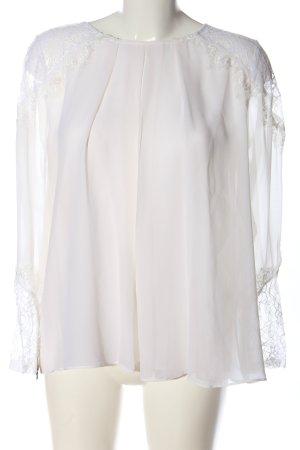 Alice + Olivia Blusa de manga larga blanco look casual