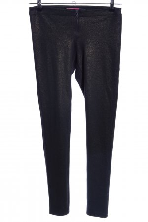 Alice + Olivia Leggings braun Glanz-Optik