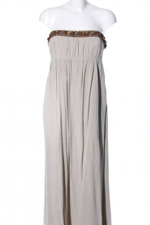 Alice + Olivia Maxi Dress light grey-brown elegant