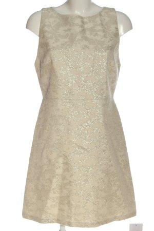 Alice + Olivia Mini vestido blanco puro elegante