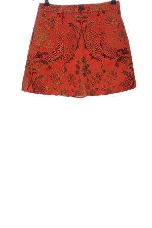 Alice + Olivia Minifalda estampado repetido sobre toda la superficie elegante