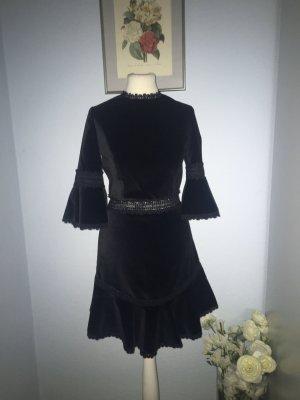 Alice + Olivia Mini vestido negro