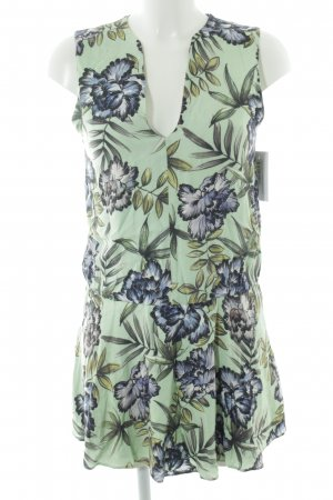 Alice + Olivia Tunic Dress floral pattern beach look
