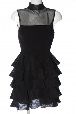 Alice + Olivia Flounce Dress black elegant