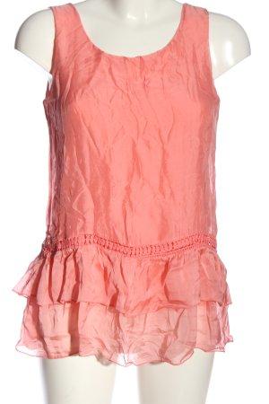 Alice Rinaldi Blusa senza maniche rosa stile casual