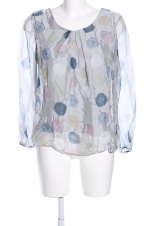 Alice Rinaldi Long Sleeve Blouse allover print business style