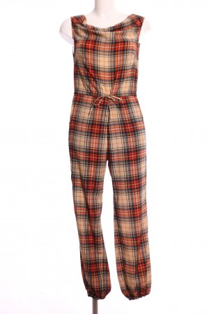 Alice's Pig Jumpsuit Karomuster Casual-Look