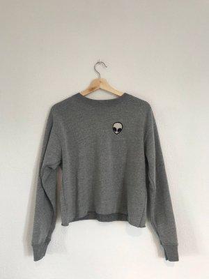 Brandy & Melville Sweatshirt gris-gris foncé