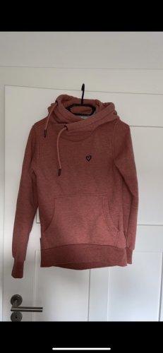 Alife & Kickin Capuchon sweater lichtrood