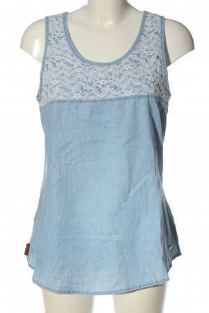 alife and kickin Long Blouse blue-white casual look
