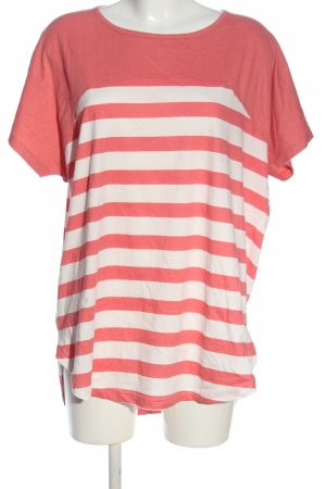 alife and kickin T-shirt rosa-bianco stampa integrale stile casual