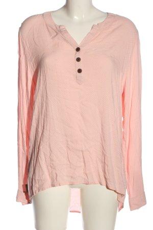 Alife & Kickin Camicia blusa rosa-bianco motivo a pallini stile casual
