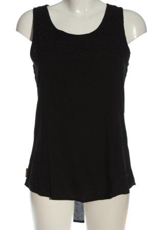 Alife & Kickin Top na ramiączkach czarny W stylu casual