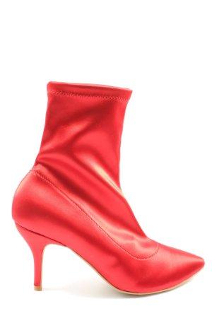 Alisha Botki czerwony W stylu casual