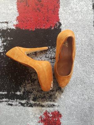 Alisha High Heels cognac-coloured-camel