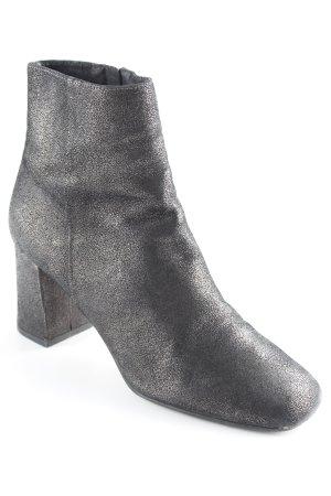 Alisha Reißverschluss-Stiefeletten schwarz Casual-Look