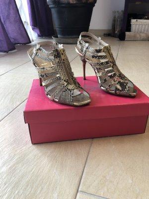 Alisha Sandals grey-cream leather
