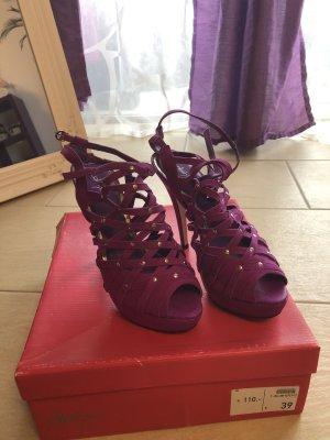 Alisha Schoenen violet Leer