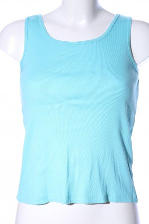 Alive Basic Top blau Casual-Look
